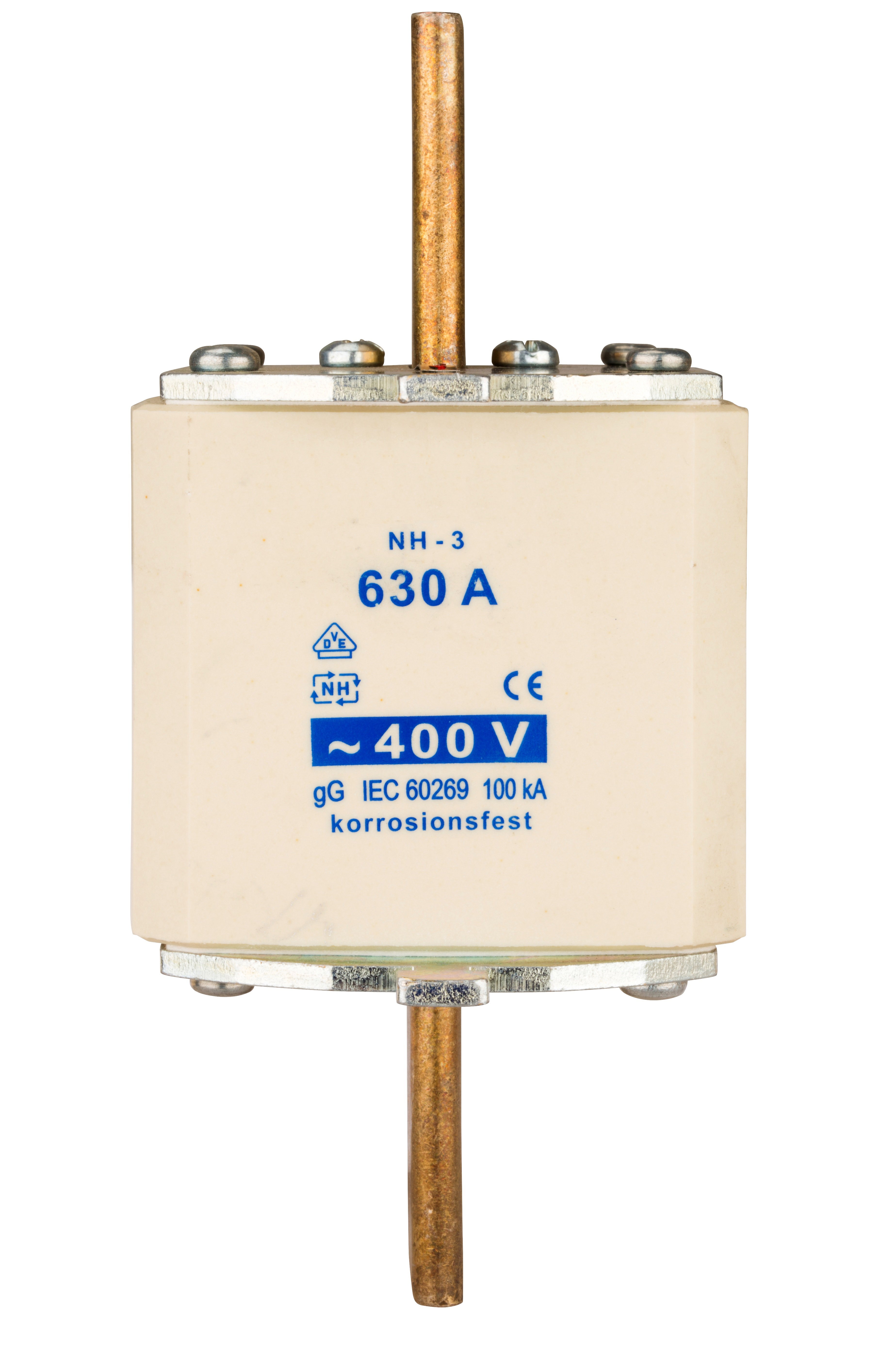 1 Stk NH-Sicherungseinsatz, Größe 3, 500A, 400V AC ISP03500--