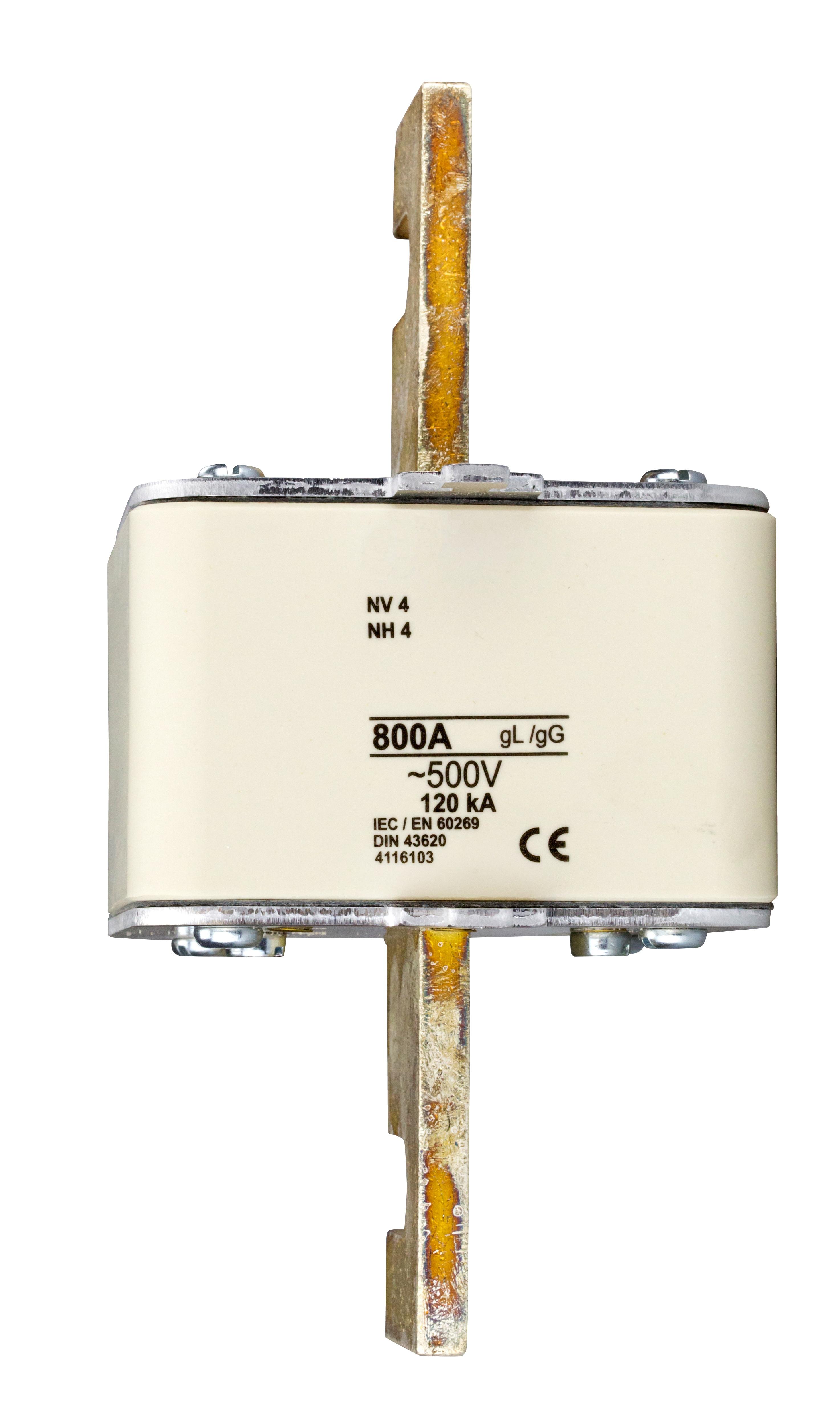 1 Stk Sicherungseinsatz, ähnlich Größe 4, 800A, 400V AC ISP04800--