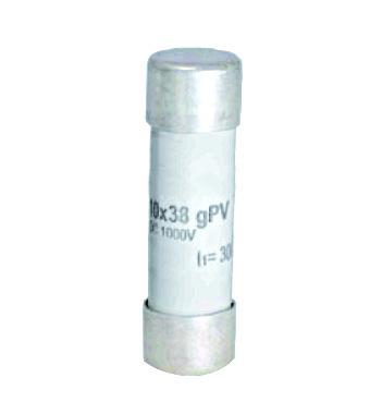 1 Stk Photovoltaik-Sicherung Kennlinie gPV, 10x38, 6A, 1000V DC ISV10006--