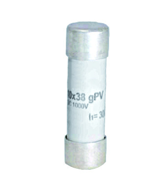 1 Stk Photovoltaik-Sicherung Kennlinie gPV, 10x38, 10A, 1000V DC ISV10010--