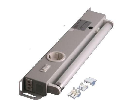 1 Stk Schaltschrankleuchte ohne Magnetbefestigung mit Schukodose IU008509--