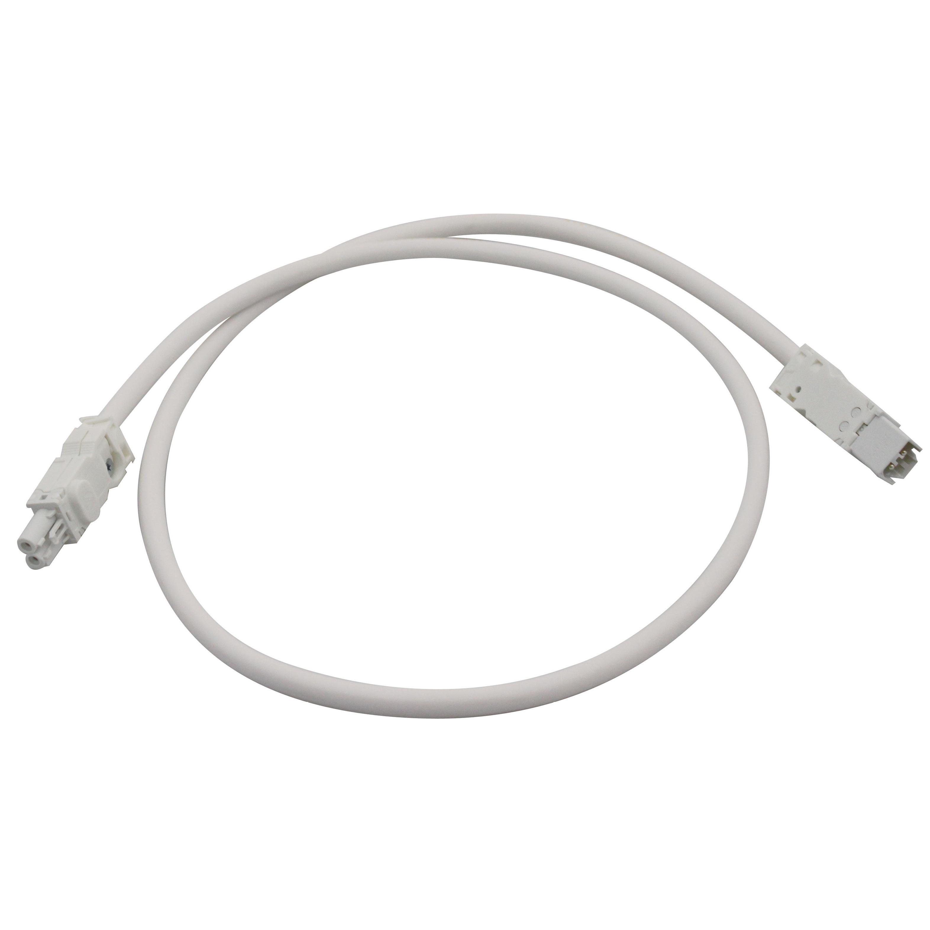 1 Stk Verlängerungsleitung für IU008523, 2x1,5mm², Länge 1m, weiß IU008525--
