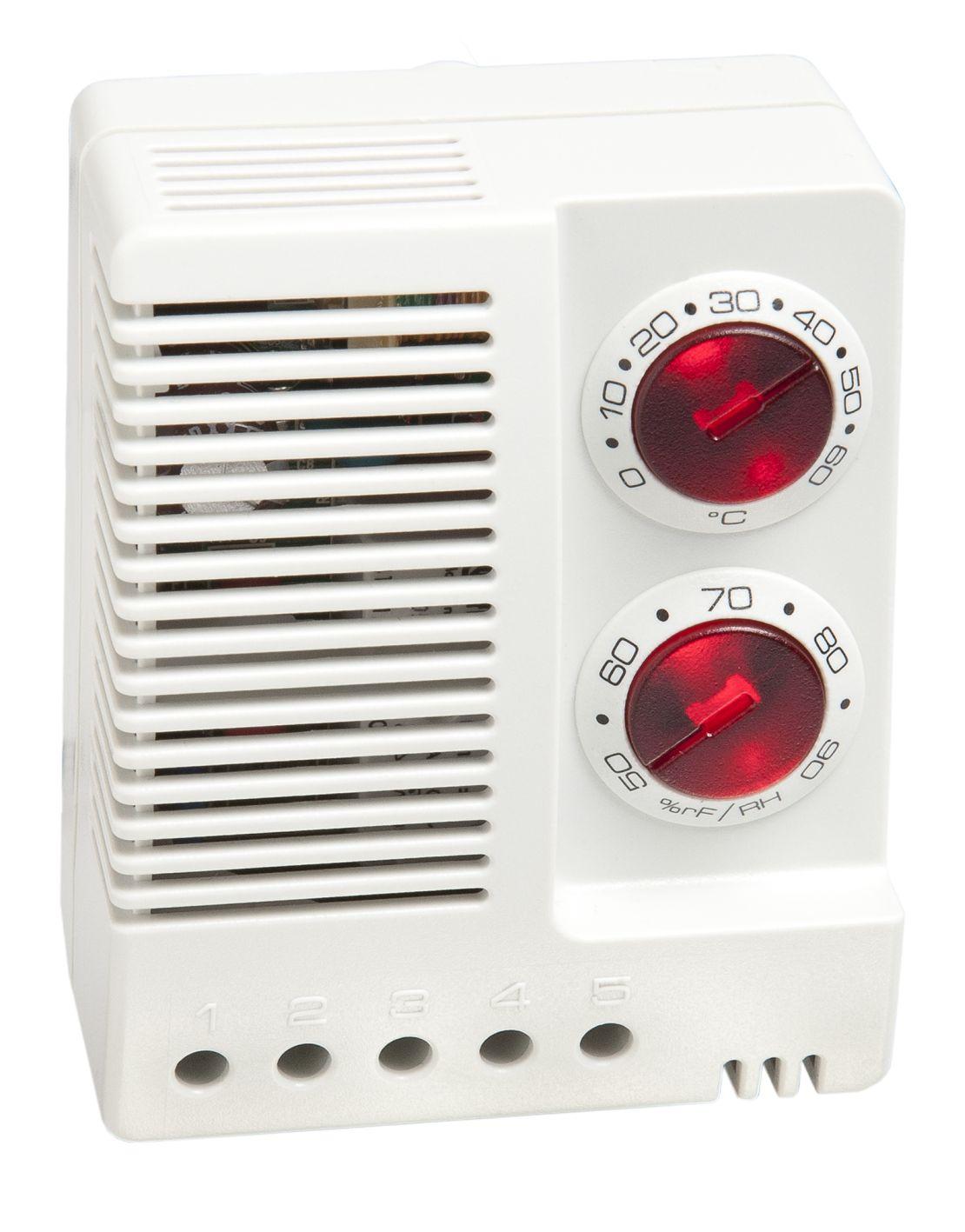 1 Stk Elektrischer Feuchtigkeits- und Temperaturregler IU008560-A