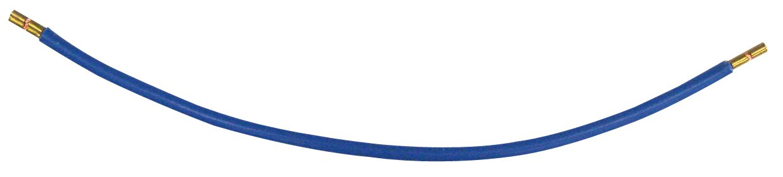 1 Stk Isolierte Kabelbrücke, 6mm², blau, beids. Adernendhülse KB002506-B