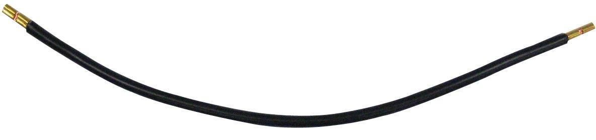 1 Stk Isolierte Kabelbrücke, 10mm², schwarz, beids. Adernendhülse KB002510--
