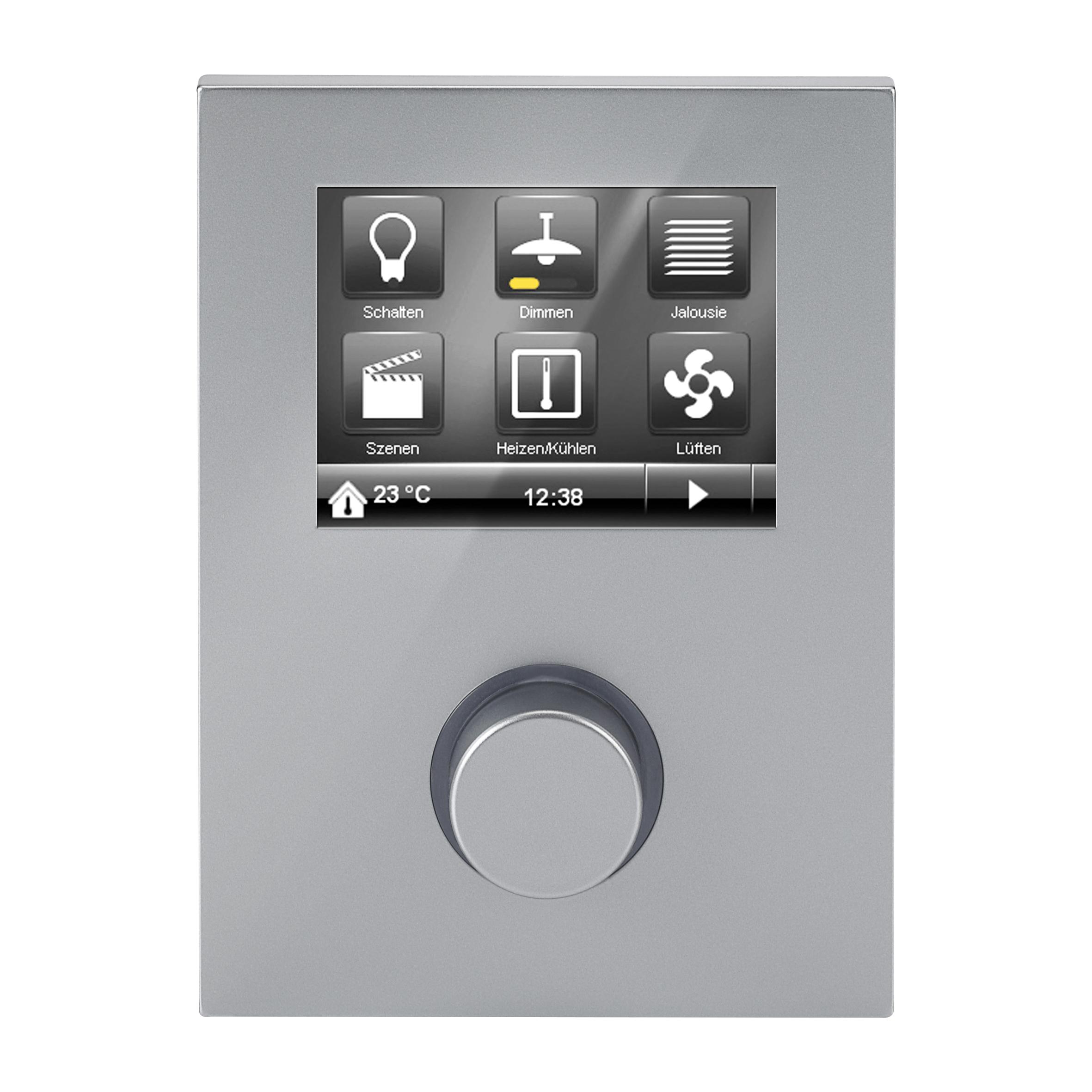 1 Stk Raum Controller Contouch, aluminiummetallic KX2042AB31