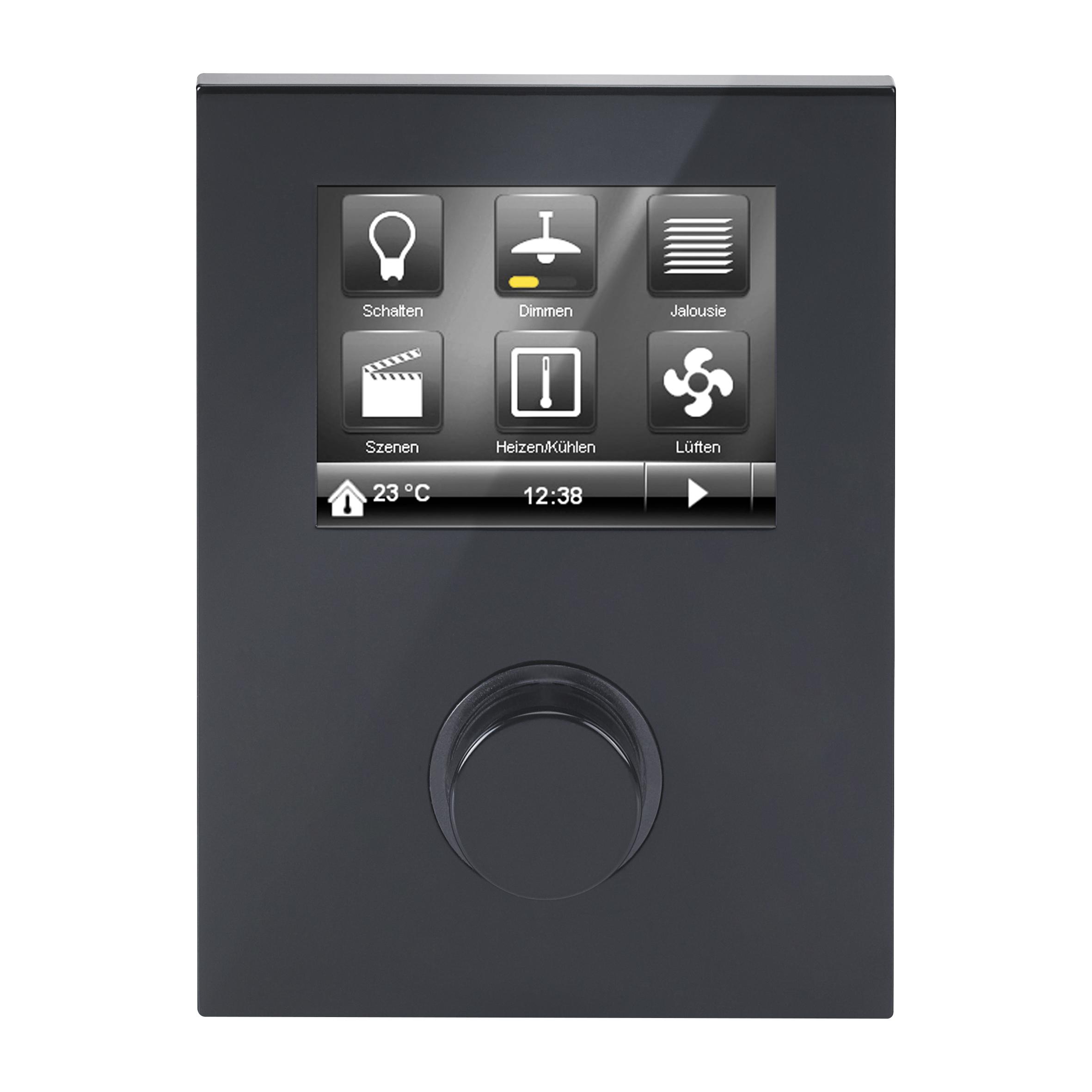 1 Stk Raum Controller Contouch, pianoschwarz KX2042AB51