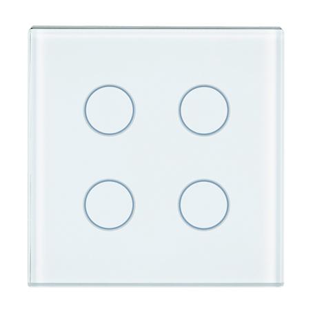 1 Stk Tastsensor Abdeckung, 2-fach, weiß KX2128DB11