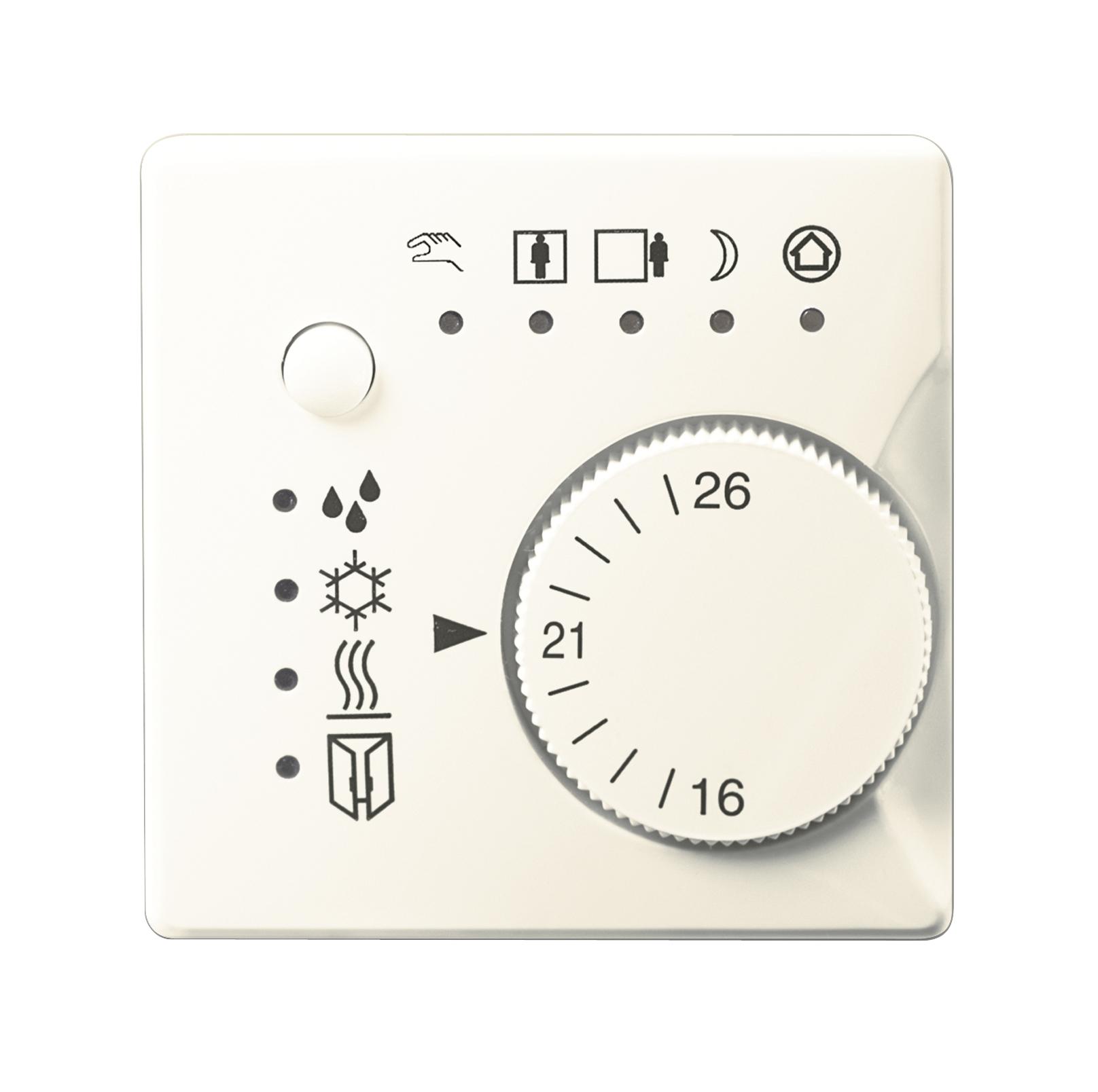 1 Stk Raumtemperaturregler, titanweiß KX2372KB11