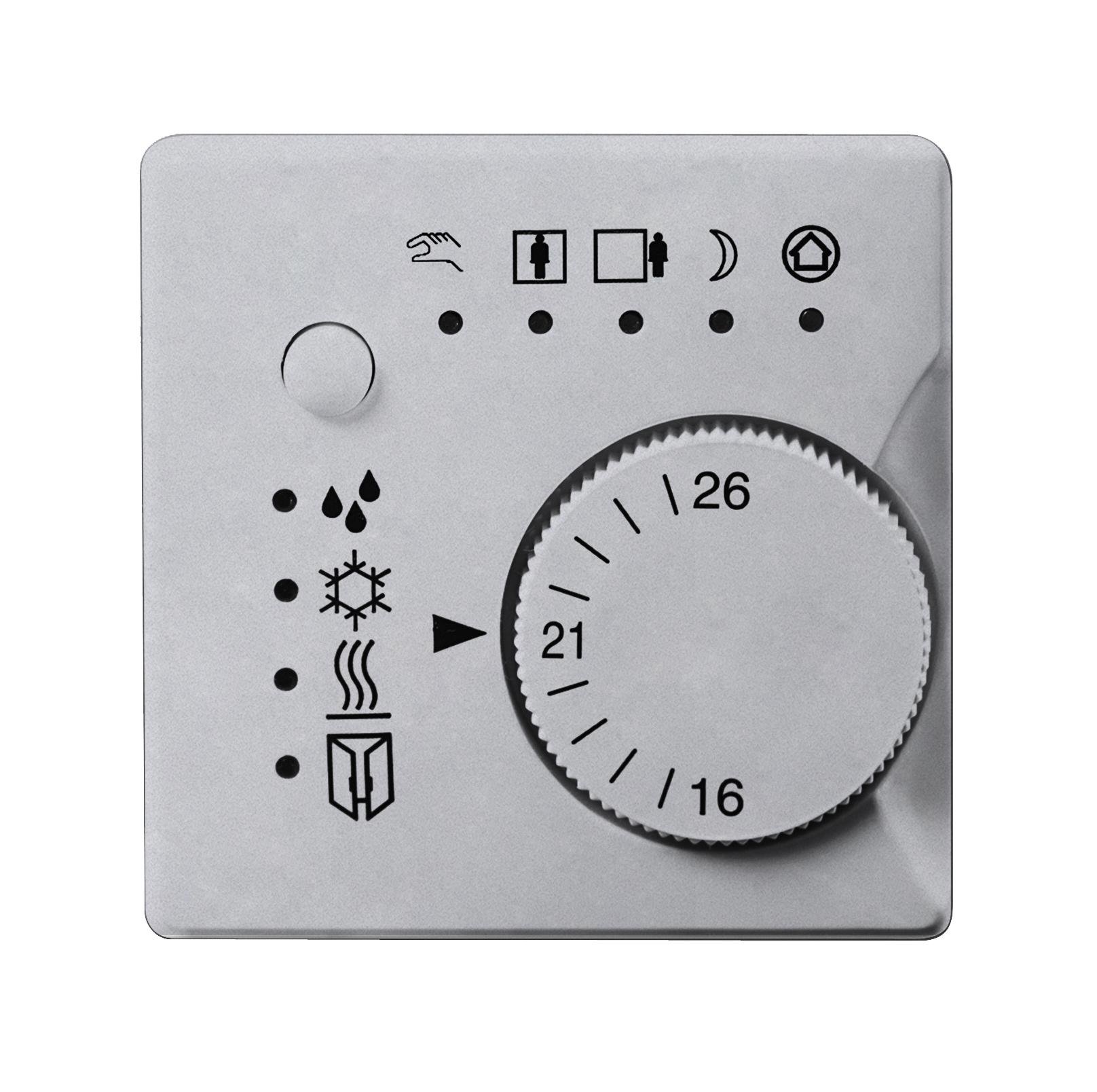 1 Stk Raumtemperaturregler, aluminiummetallic KX2372KB31