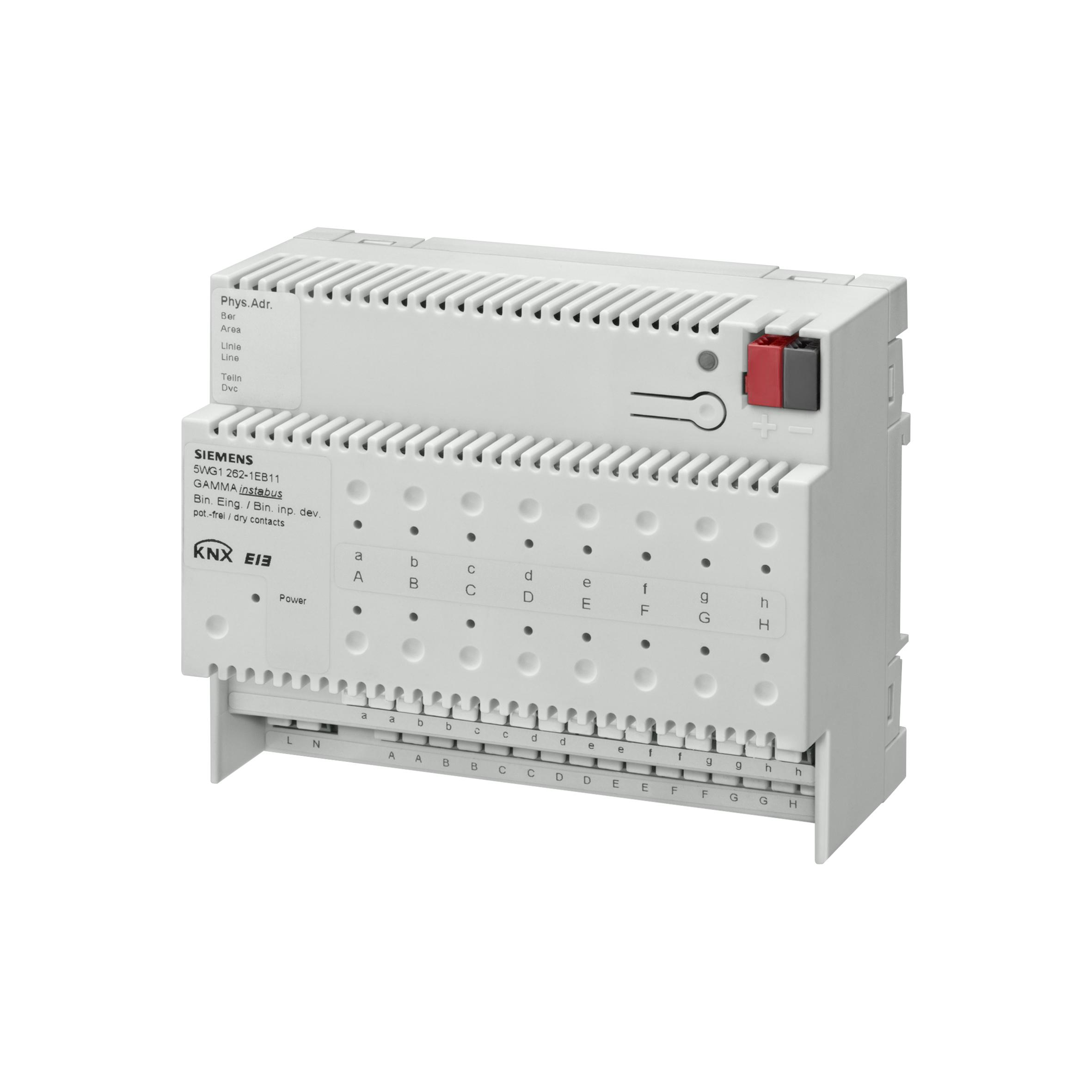 1 Stk Binäreingabegerät, 16 Eingänge für potentialfreie Kontakte KX2621EB11