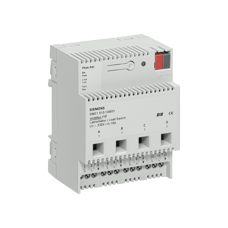 1 Stk Lastschalter, 4 x AC 230 V, 16 A KX5101AB03