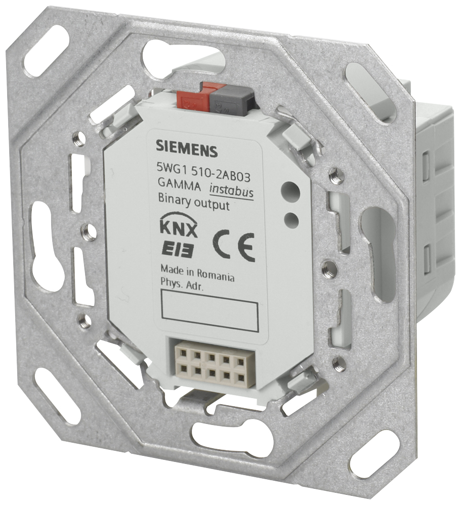 1 Stk Binärausgabegerät, 2 x AC 230 V, 10A, Hängebügel, BTI-Buchse KX5102AB03