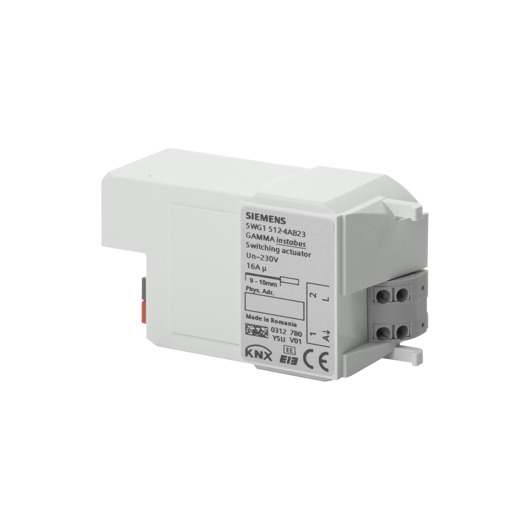 1 Stk Schaltaktor, 1 x AC 230 V, C-Last KX5124AB23