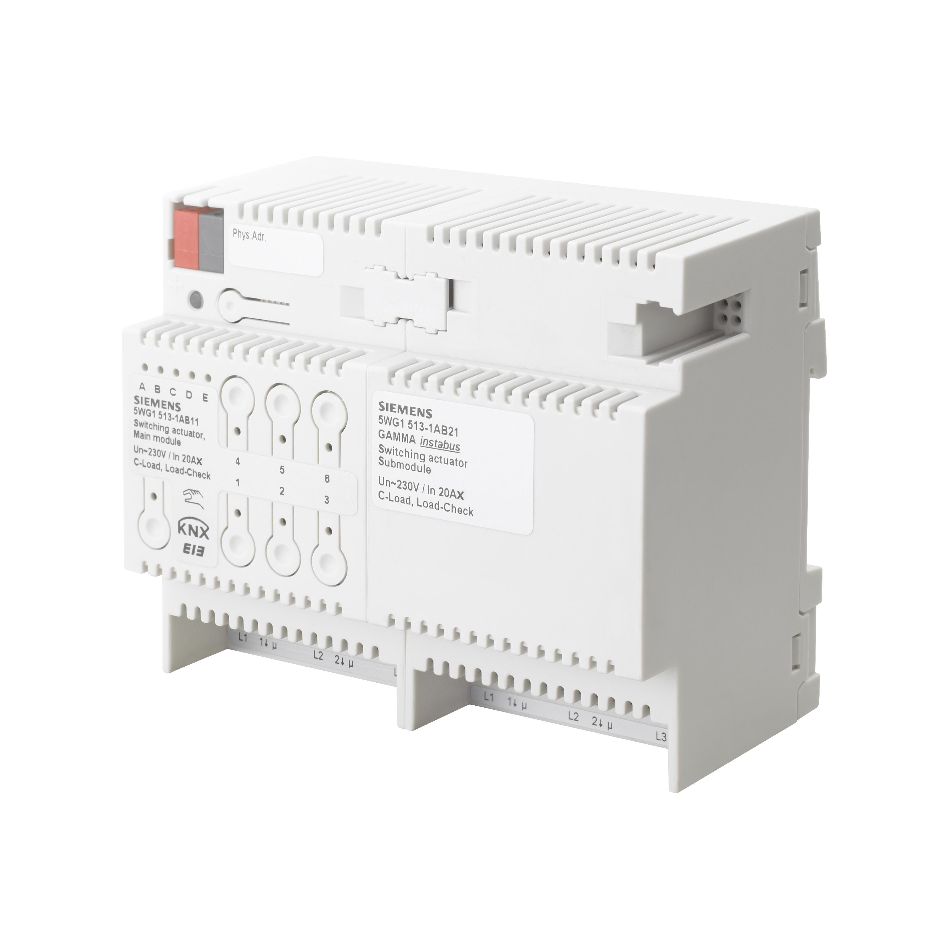 1 Stk Schaltaktor Erweiterungsmodul, 3 x AC 230/400 V, 20 AX KX5131AB21