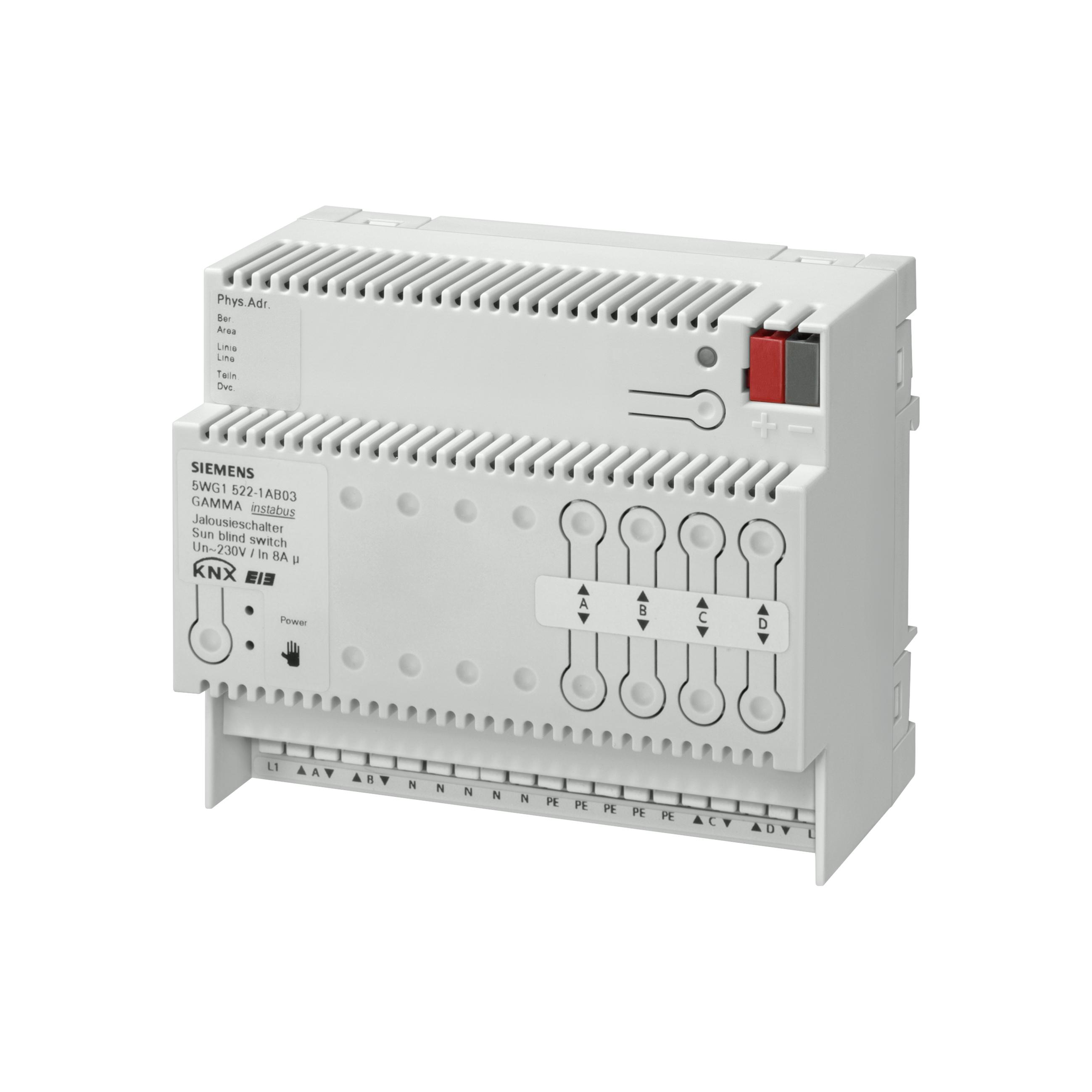 1 Stk Jalousieaktor, 4 x AC 230 V, 8 A KX5221AB03