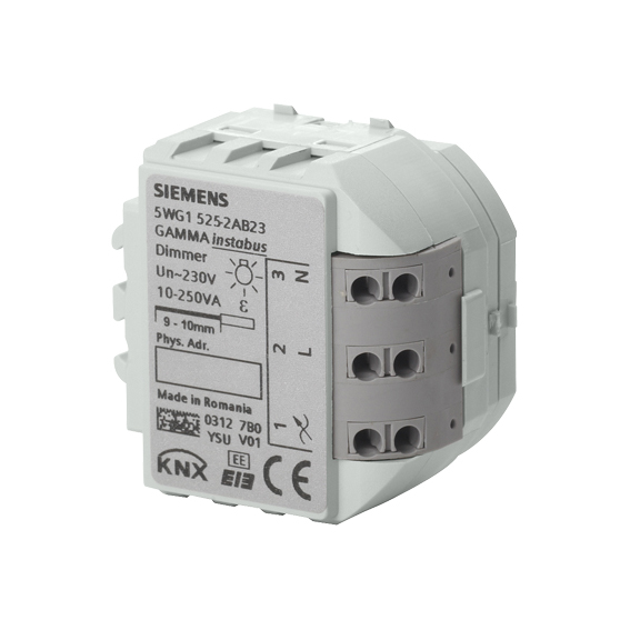 1 Stk Universaldimmer, 1 x AC 230 V, 10…250 VA (R,L,C-Last) KX5252AB23