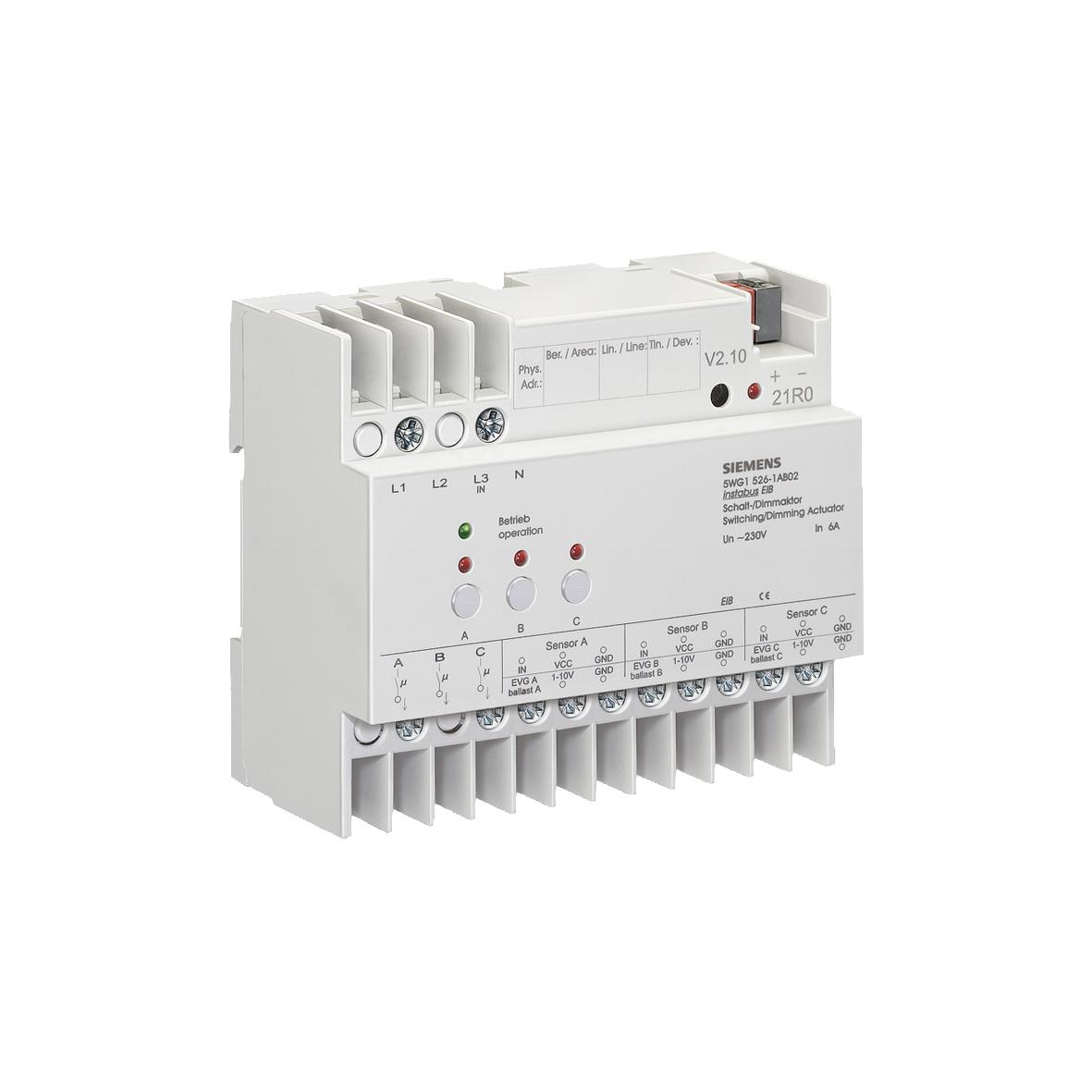 1 Stk Schalt-/Dimmaktor 3-fach, 230 V, 6 A KX5261AB02