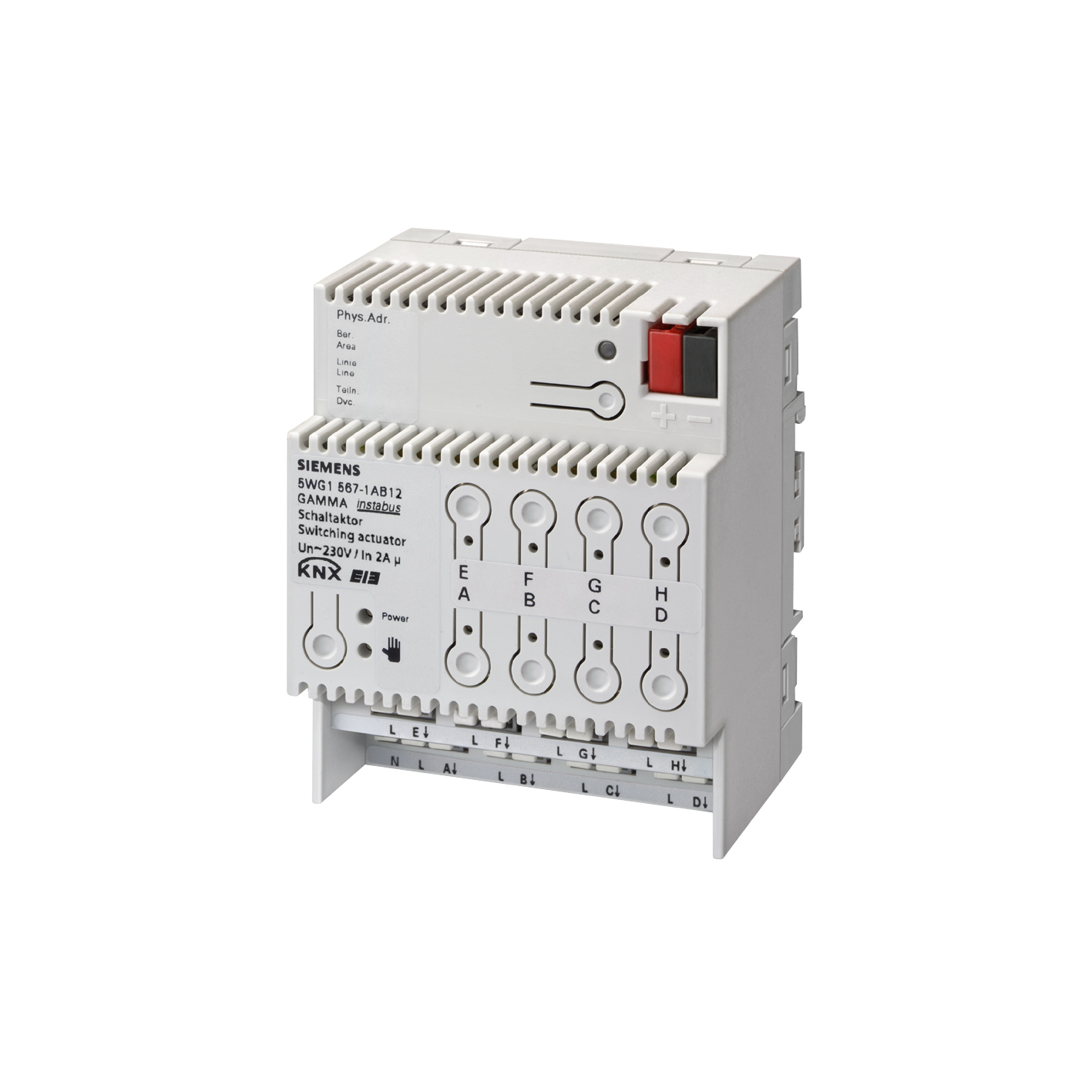 1 Stk Schaltaktor 8 x AC 230 V, 2 A KX5671AB12