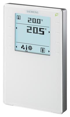 1 Stk Raumbediengerät mit Display,Temperatur, Feuchtigkeit, CO2 KX624H106-