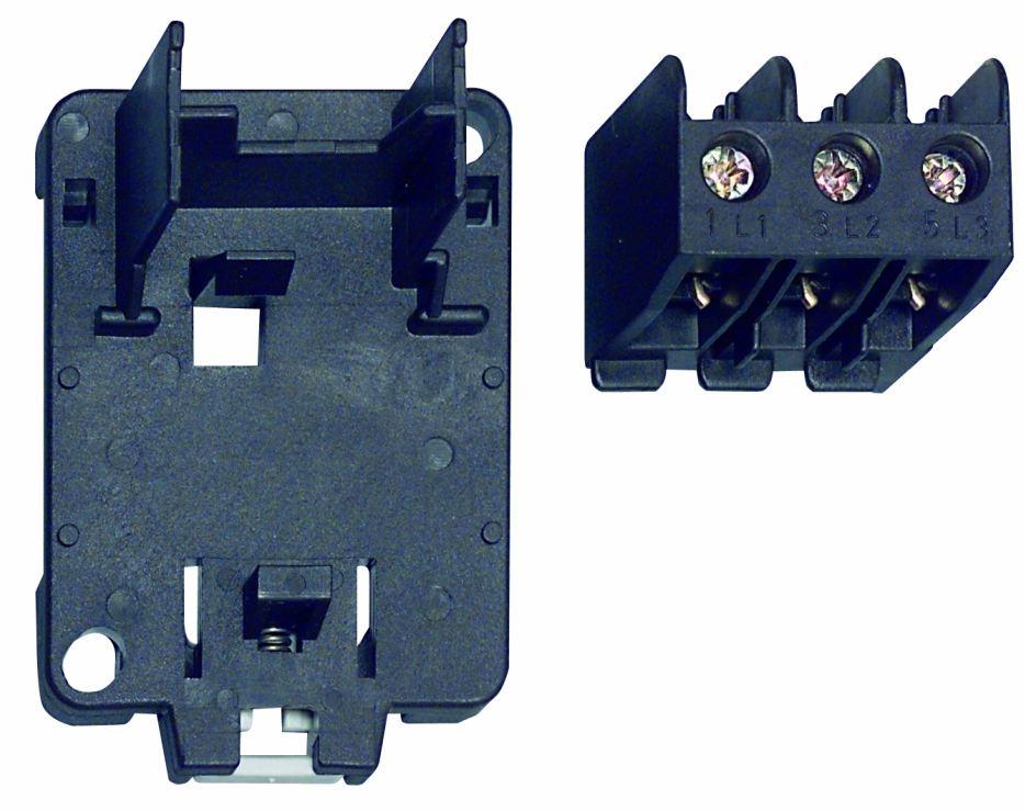 1 Stk Einzelaufstellungsträger für Motorschutzrelais U12/16E…K3 LA100125--
