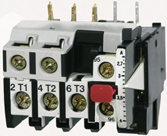 1 Stk Motorschutzrelais 1,8-2,7A U12/16E...K1 Hand-Reset LA100307--