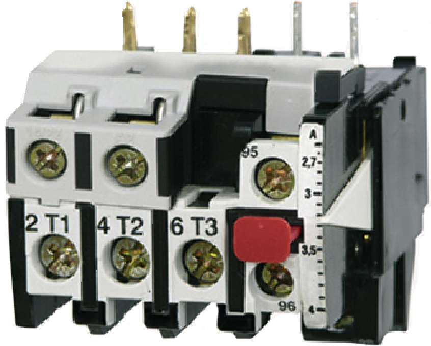 1 Stk Motorschutzrelais 2,7-4A U12/16E...K1 Hand-Reset LA100308--