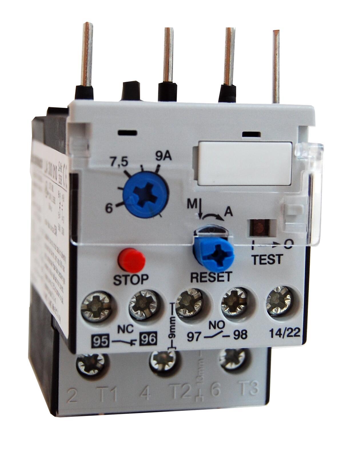 1 Stk Motorschutzrelais 0,18-0,27A U3/32 Hand/Auto-Reset LA300001--