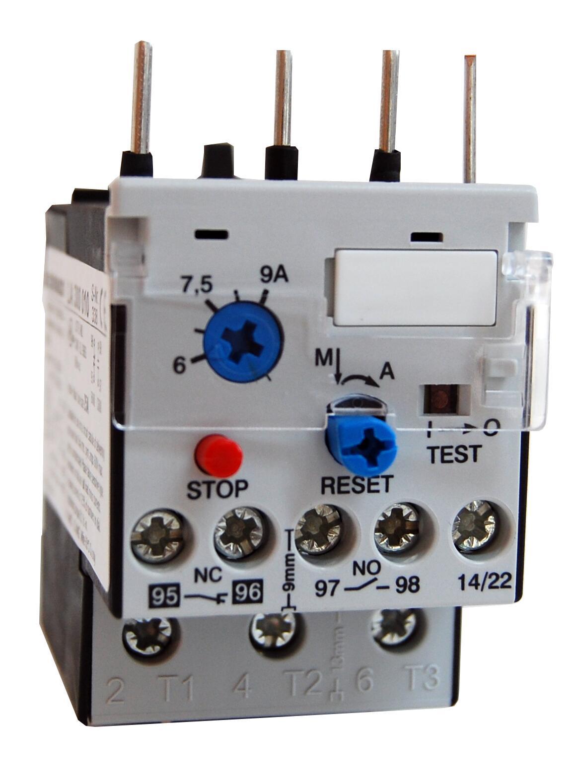 1 Stk Motorschutzrelais 0,27-0,40A U3/32 Hand/Auto-Reset LA300002--