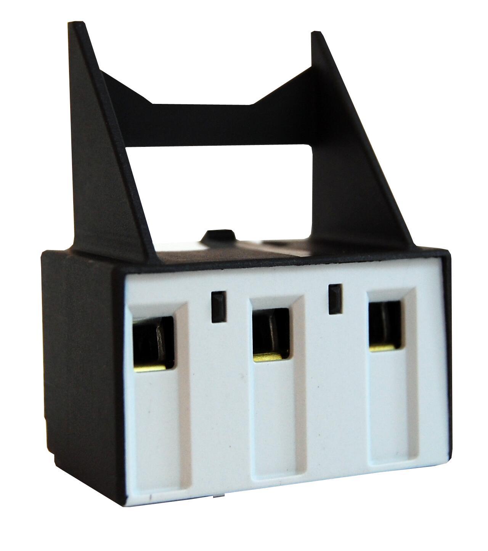 1 Stk 3-polige Zusatzklemme bis 6mm² für U3/32 LA300025--