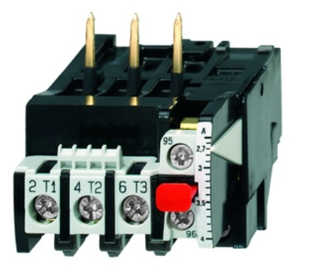 1 Stk Motorschutzrelais 0,12-0,18A U12/16E...K3 Hand-Reset LA300100K3