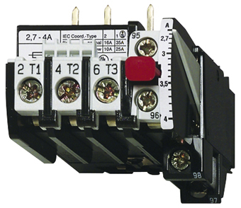1 Stk Motorschutzrelais 4-6A U12/16E...K3 Hand-Reset LA300109K3