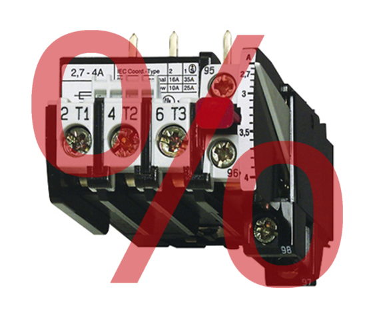 1 Stk Motorschutzrelais 22-30A U12/16E...K3 Hand-Reset LA300126K3