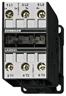 1 Stk Leistungsschütz, 15kW, 32A AC3, 65A AC1, 3polig, 230VAC LA303233--