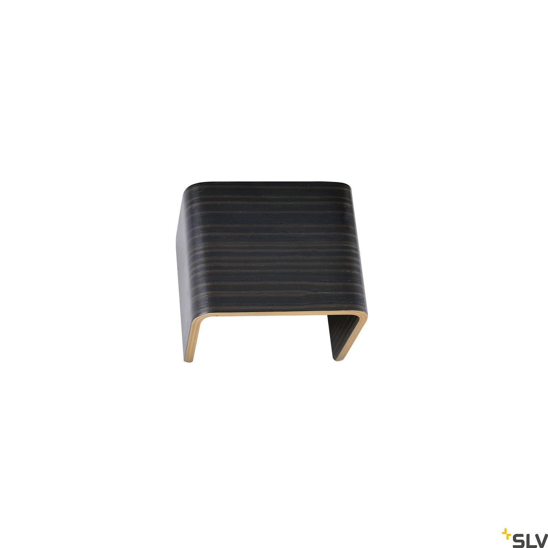 1 Stk MANA Leuchtenschirm 12, Holz, grau/braun  LI1000616-
