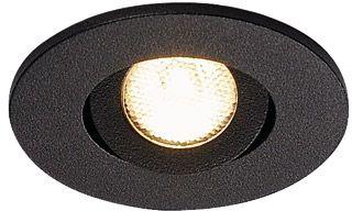 1 Stk NEW TRIA MINI DL ROUND Downlight, 30°, 3000K, mattschwarz LI113980--