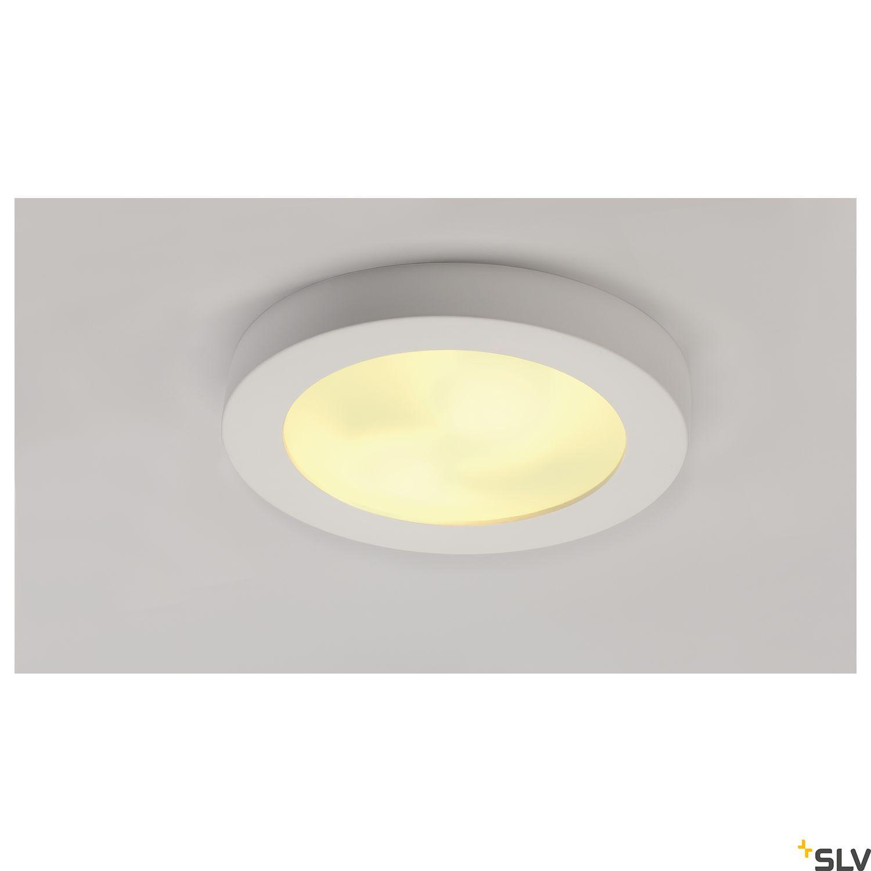 1 Stk GL 105 E27, max. 2x25W, rund, weißer Gips LI148001--