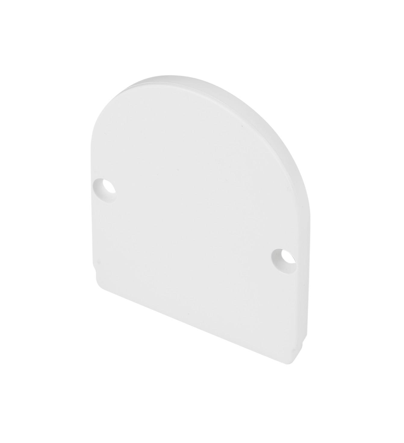 1 Stk GLENOS Endkappe für Industrial Profil Dome, mattweiß,2 Stück LI214461--