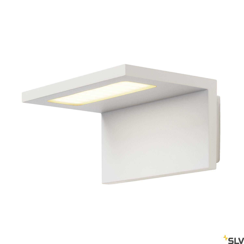 1 Stk ANGOLUX WALL Wandleuchte 36 SMD LED, 7,5W, 3000K, IP44, weiß LI231351--