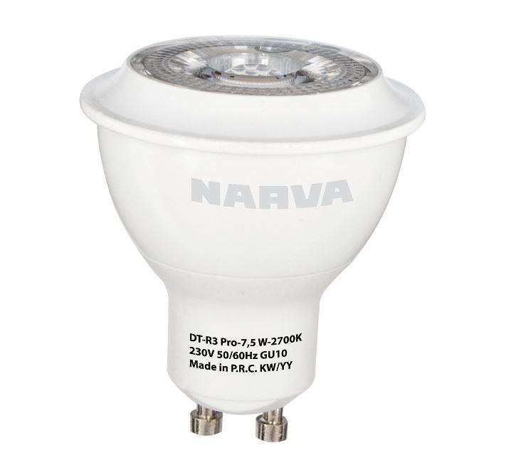 1 Stk LED GU10 PAR16 7,5W 230V 2700K 36°, 500lm, dimmbar LI3508R303