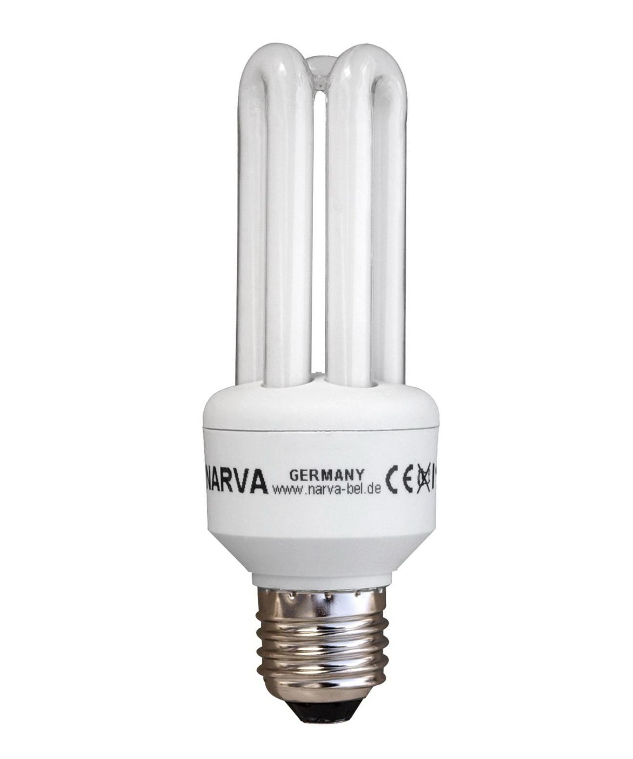 1 Stk KLE-2U 9W/827 E27,Warmweiß comfort, Kompaktleuchtstofflampe LI36109001