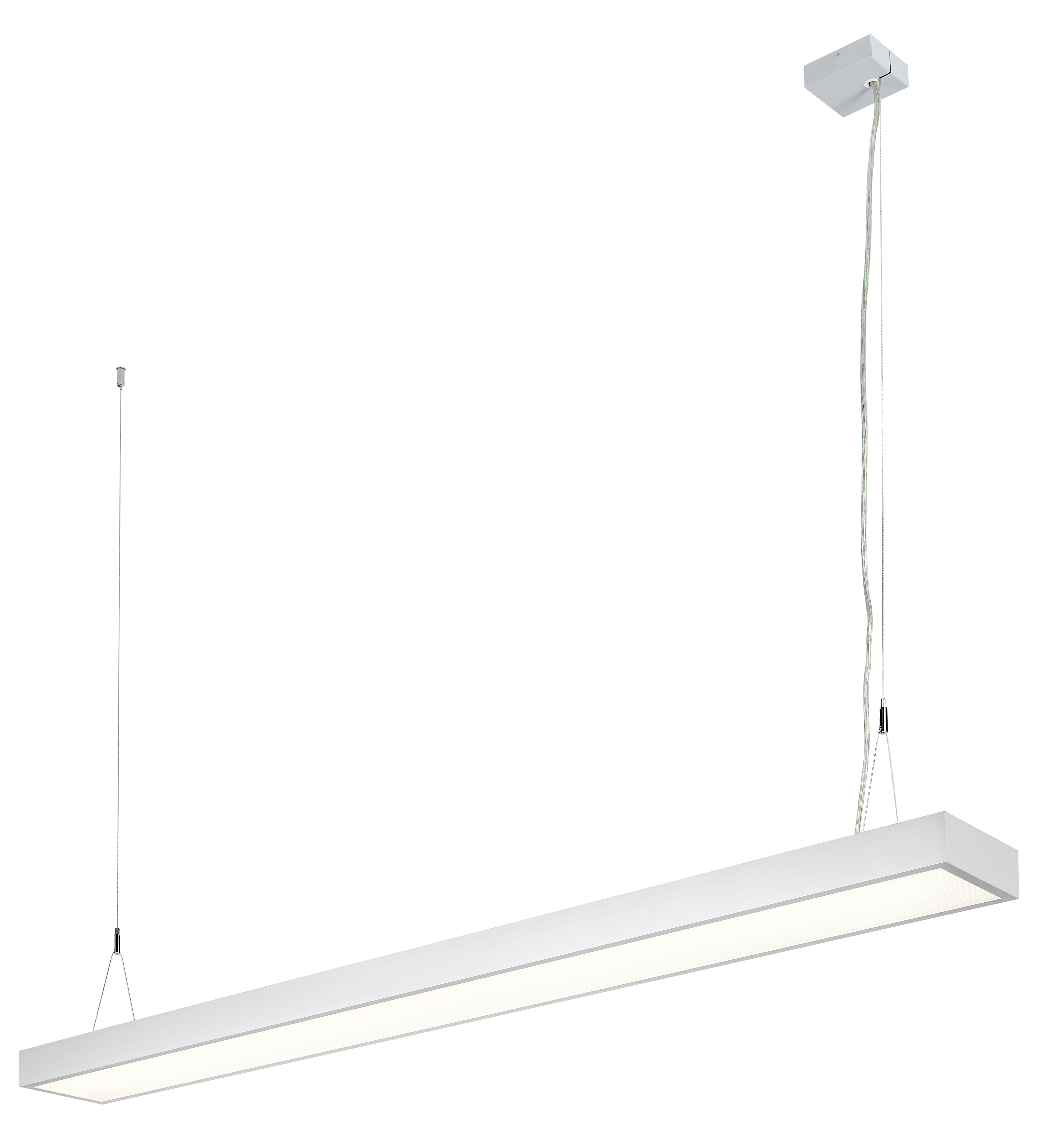 1 Stk Office LED D/I 86W, 4000K 9735lm, DALI, eloxiert L-1,5m LI38OF0061