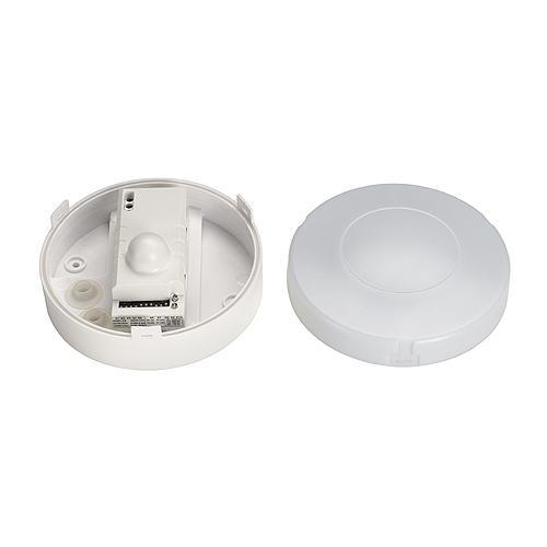 1 Stk Bewegungsmelder Microwave IP44, rund, weiß LI410871--