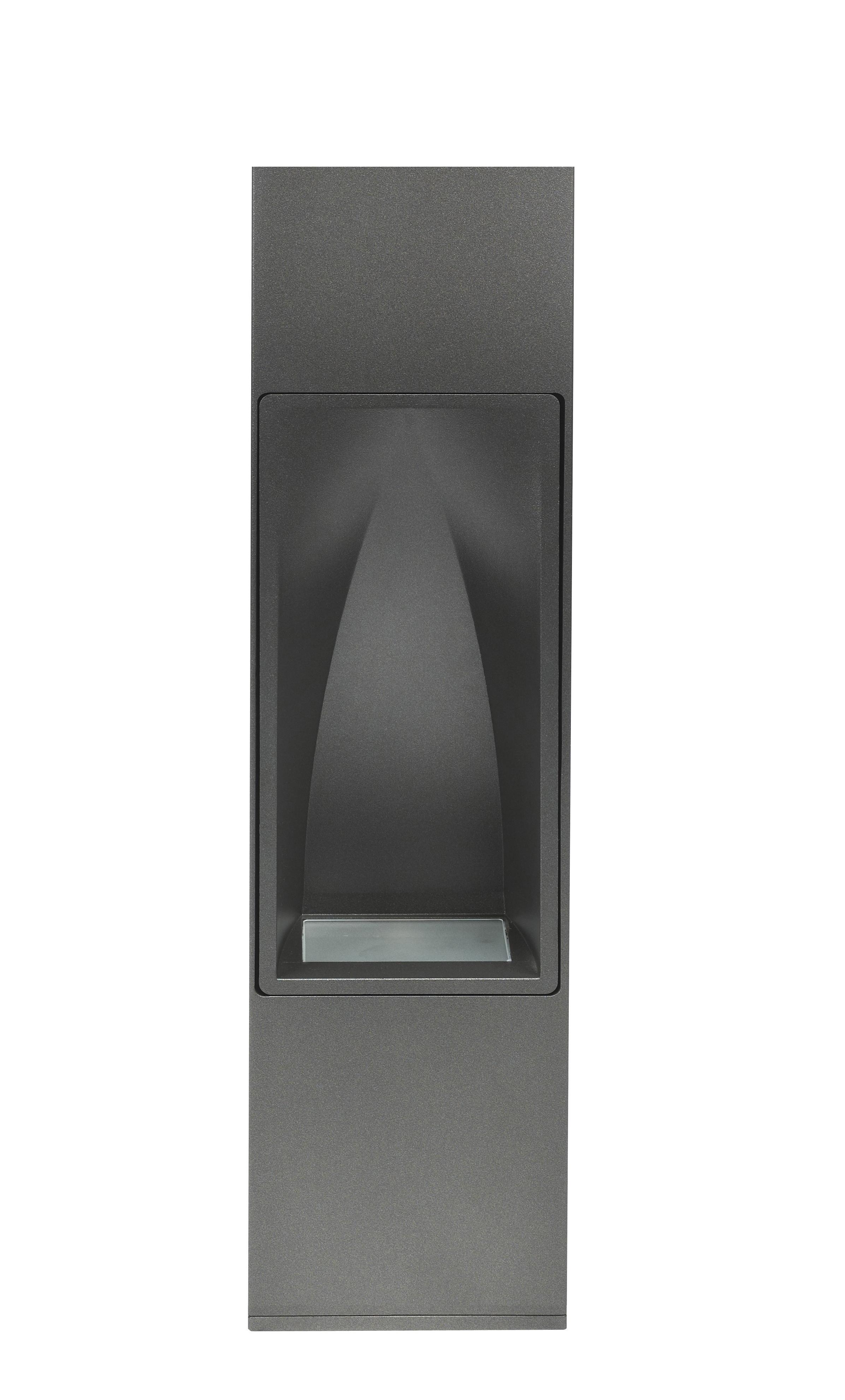1 Stk FIN-POLE 50cm LED 9x1W, 3000K, DOWN, Glas matt, SABLE NOIR LI6FI2109C