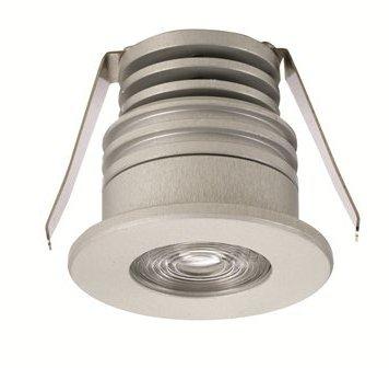 1 Stk PERLA Ceiling 1x1W LED 4000K 66° Glas klar, ALU ohne Treiber LI6PX1017J