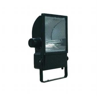 1 VE Set 1000W Fluter HIT E40, asymm., IP65, schwarz, inkl. Lampe LI6S3163C4