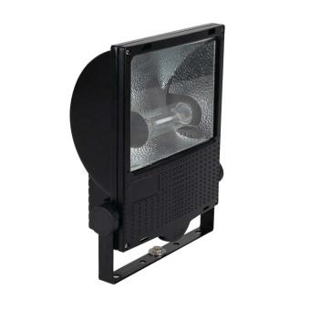 1 Stk Set 150W HST E40 IP65 Scheinwerfer asymmetrisch, RAL9005 LI6S5021C2