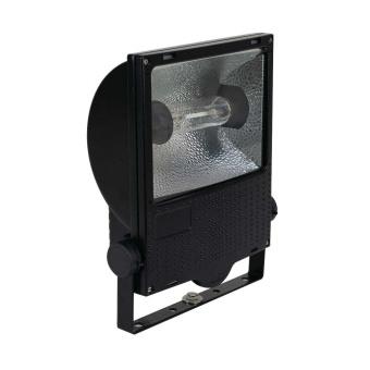 1 Stk Set 150W HIT-DE RX7s IP65 Scheinwerfer asymmetrisch, RAL9005 LI6S5041C4