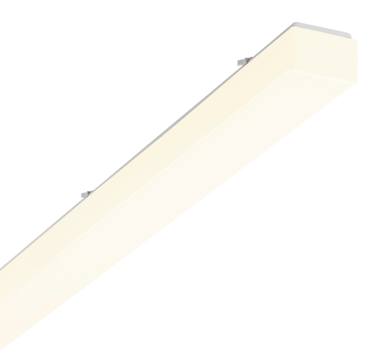 1 Stk AOT-O LED Wannenleuchte, 25W, 3000K, IP50, acryl, opal, Weiß LI70101962