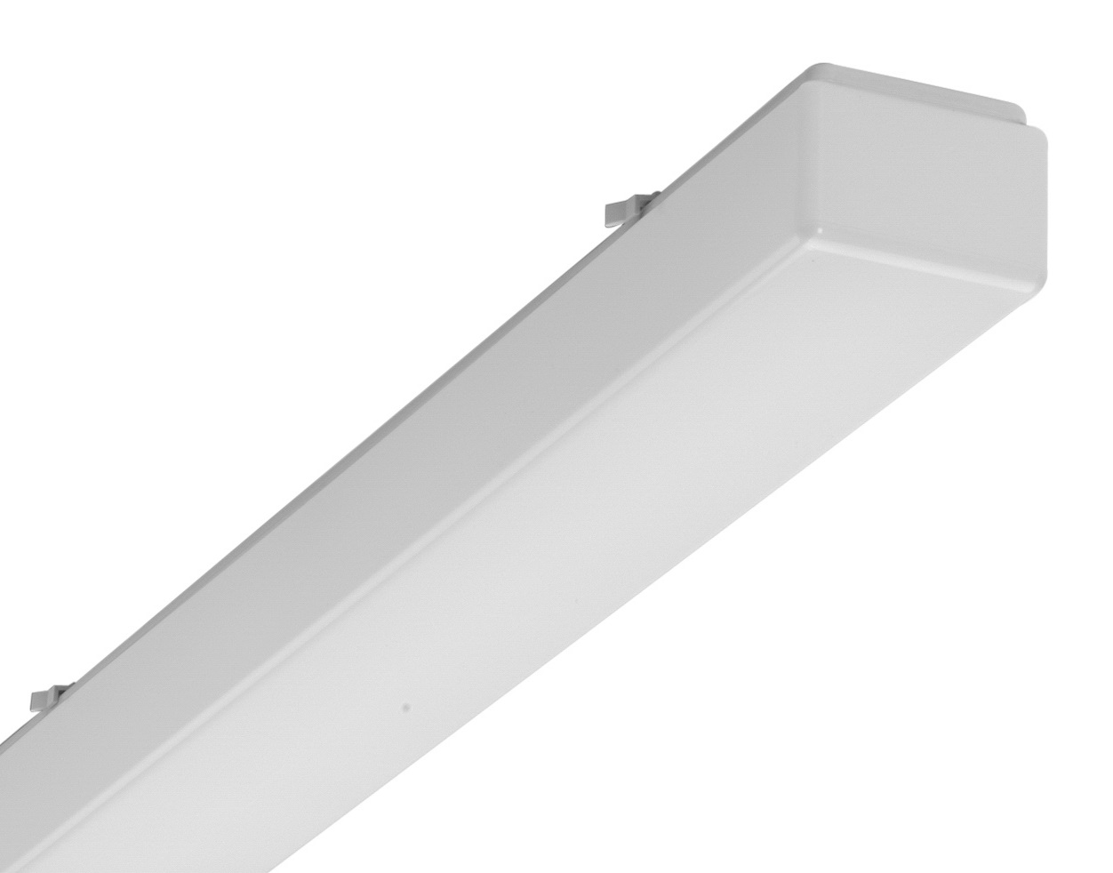 1 Stk AOTF-O T8 Wannenleuchte, 1x58W, EVG, IP50, acryl, opal, Weiß LI71231562